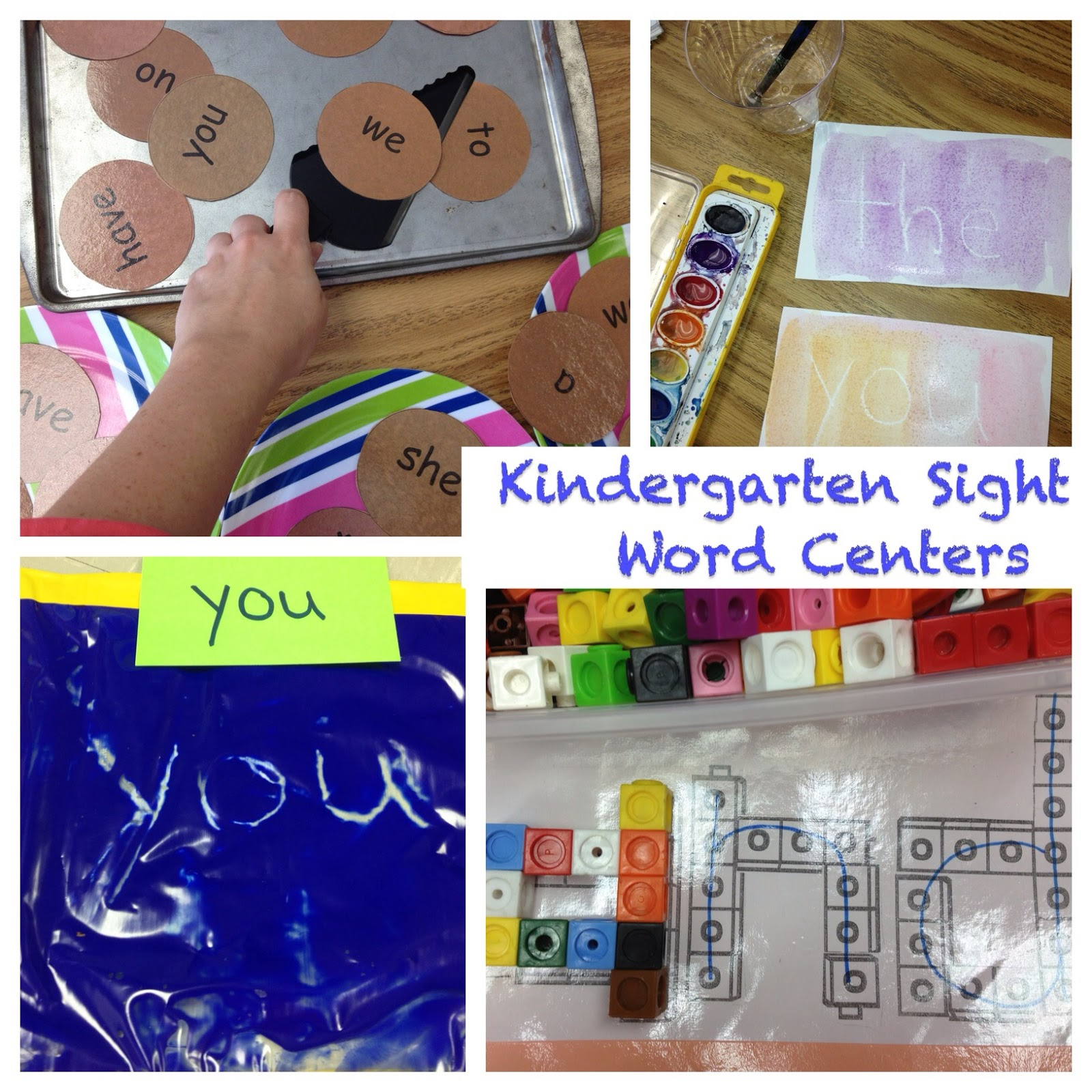 Kindergarten Is Crazy (Fun): Sight Word Literacy Station Activities