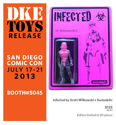 San Diego Comic-Con 2013 Exclusive Sucklord x Scott Wilkowski Infected Gay Empire Bootleg Resin Figure