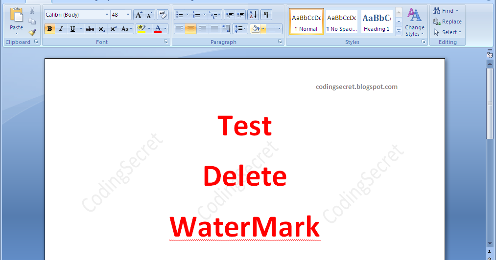 how to delete watermark in pdf