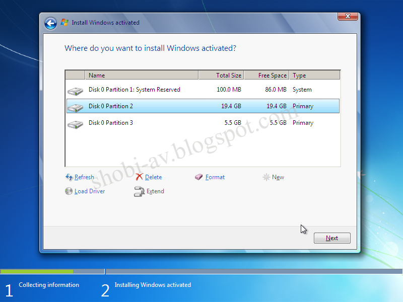 Cara Install Windows 7 Lengkap + Gambar   Shobi