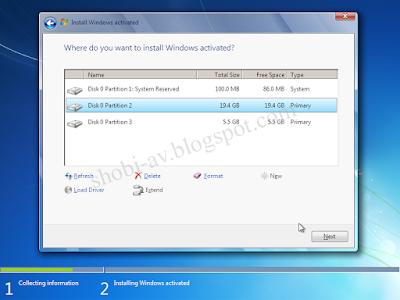 Cara Install Windows 7 Lengkap + Gambar | Shobi