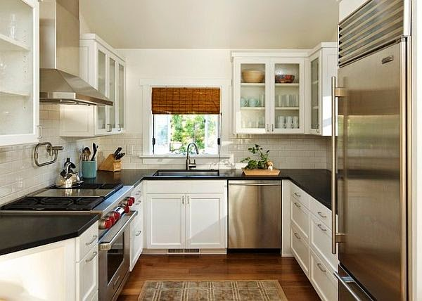Small Kitchen Modern Design Concept