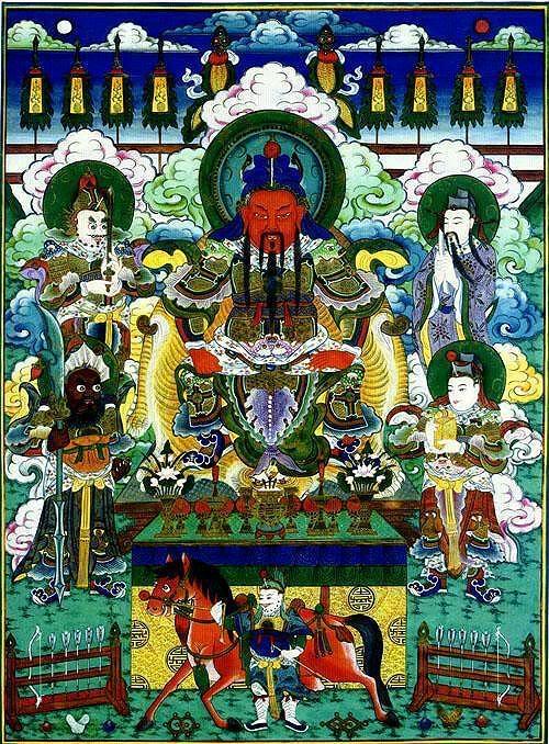 ~ BODHISATTA ~: BODHISATTVA SANGHARAMA (伽蓝菩薩)