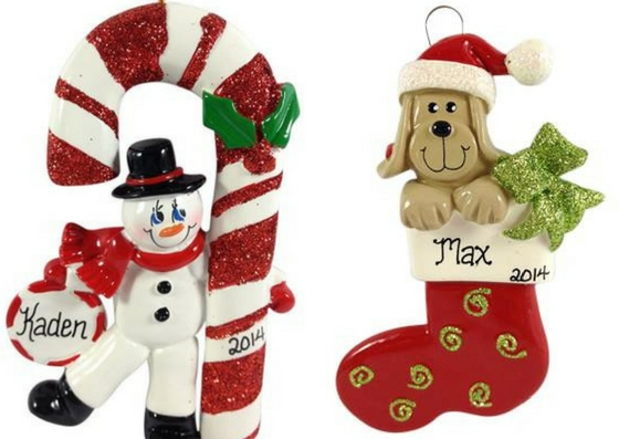 personalized christmas ornaments for everyone