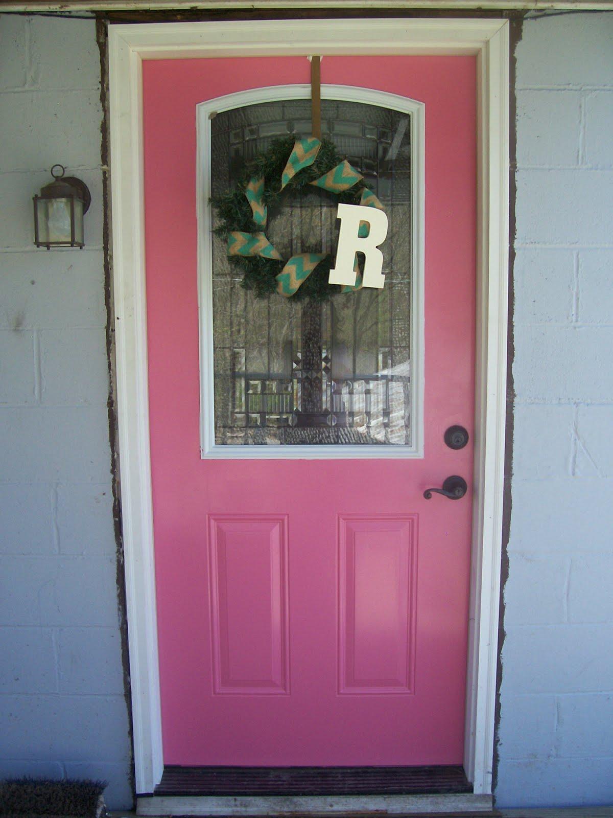 My pink door.