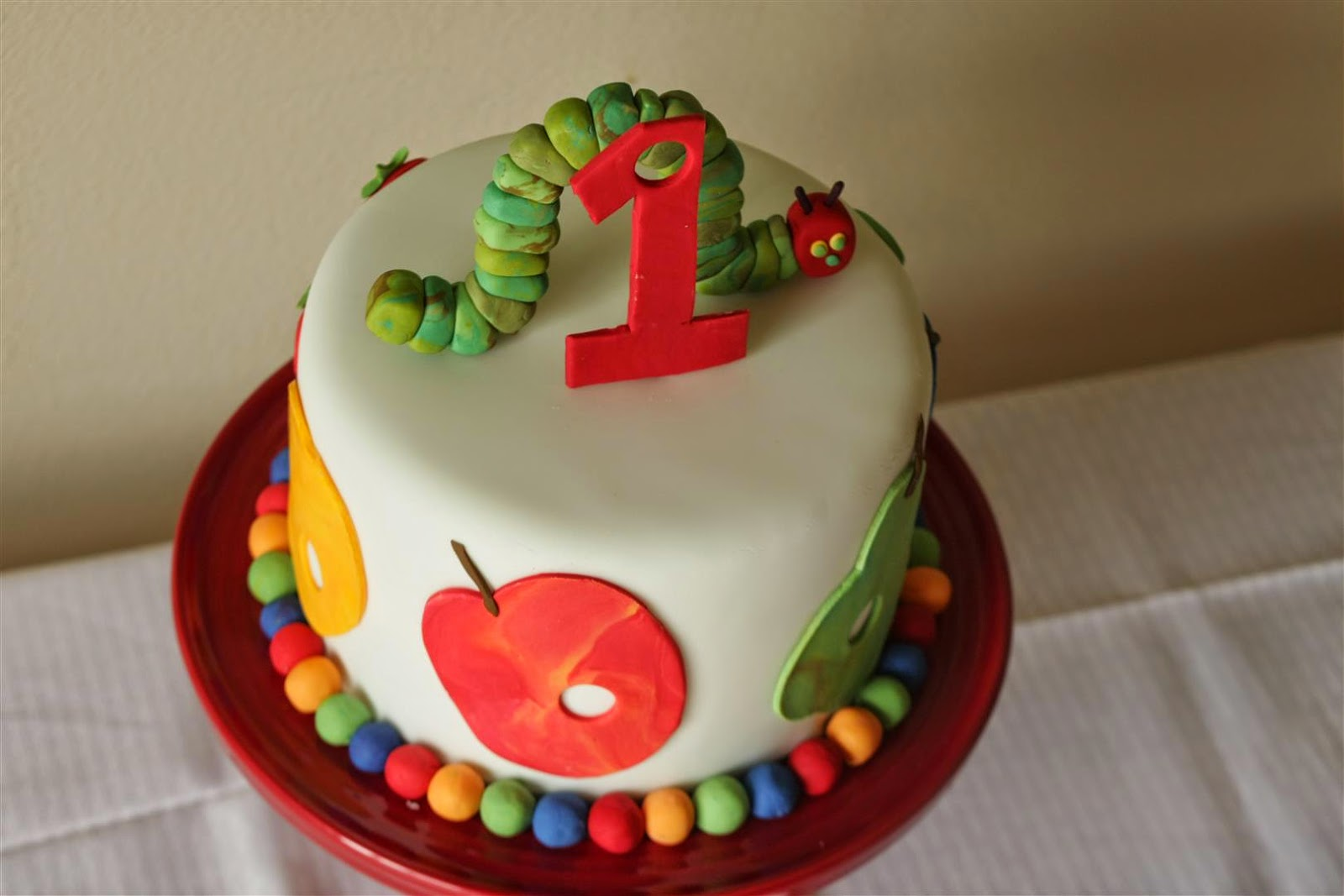 Patty Cakes Bakery The Very Hungry Caterpillar 1st Birthday