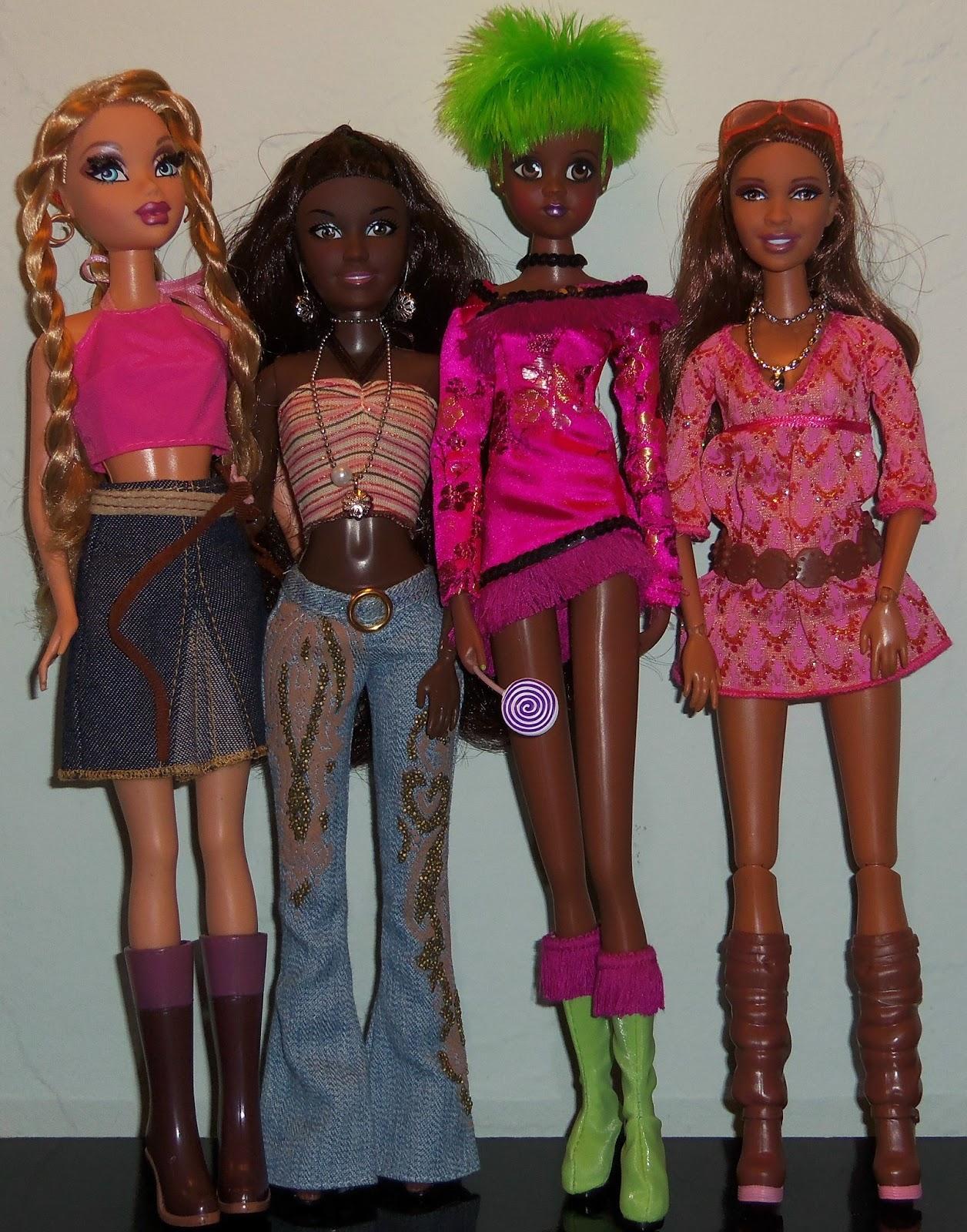 big barbie doll head