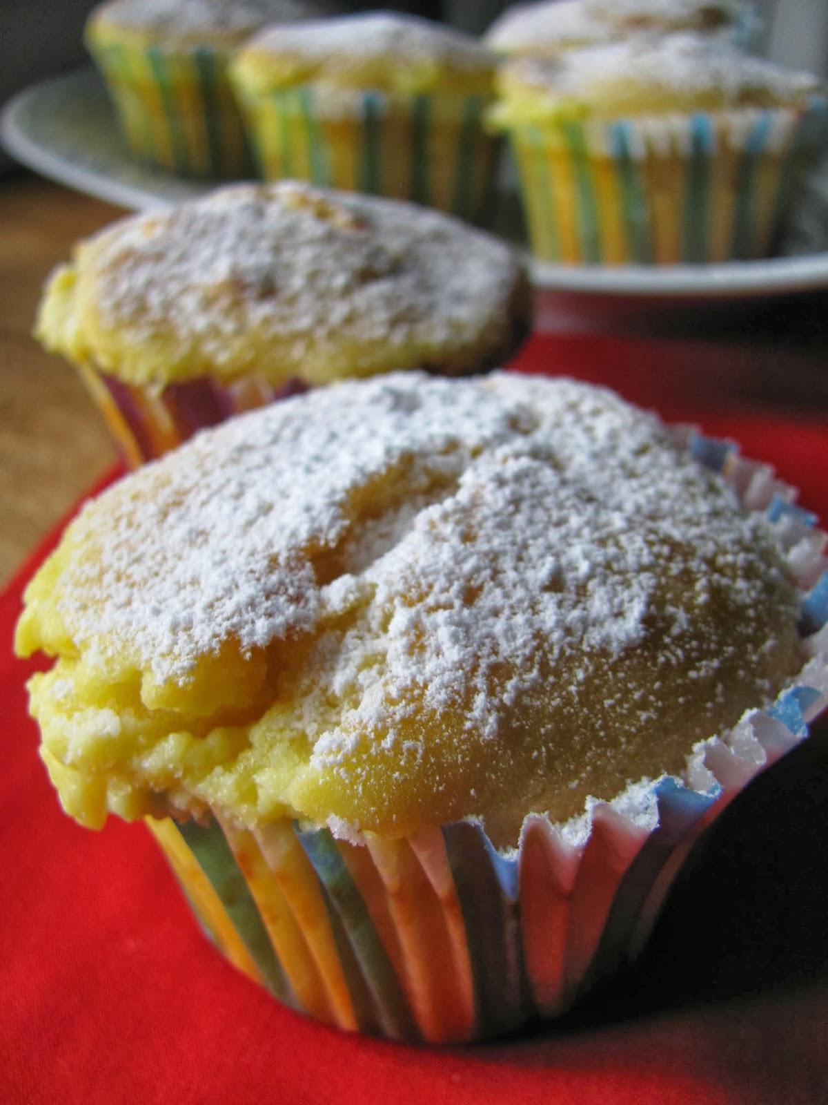 muffin dolci al formaggio