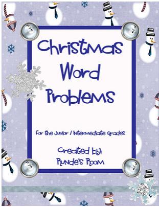 Tech Coach Christmas Word Problems