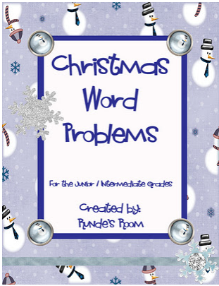 Tech Coach: Christmas Word Problems