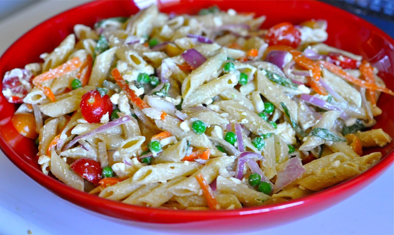 Ashley's Cooking Adventures: Mediterranean Pasta Salad
