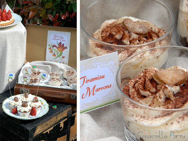 CreastelleParty - Tulip Mother's day - chesnut tiramisu