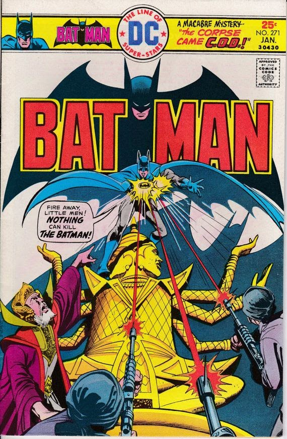 Batman #271 - January 1976 Issue - DC Comics