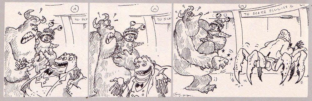 tira cómica monstruos sa