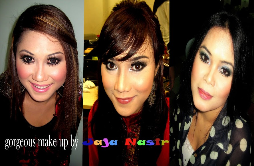 GORGEOUS MAKE-UP BY JAJA NASIR
