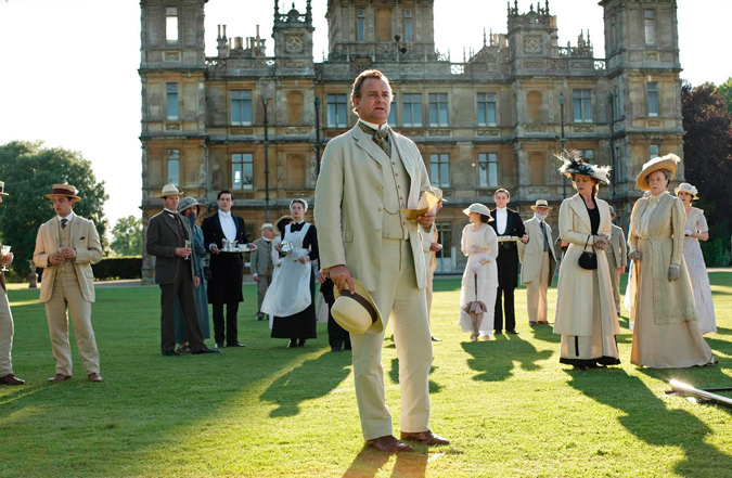 Downton Abbey exteriores
