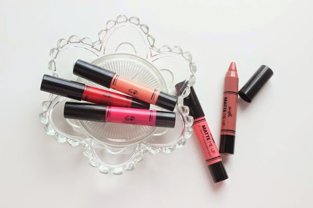 Barry M Matte Me Up Lip Crayons