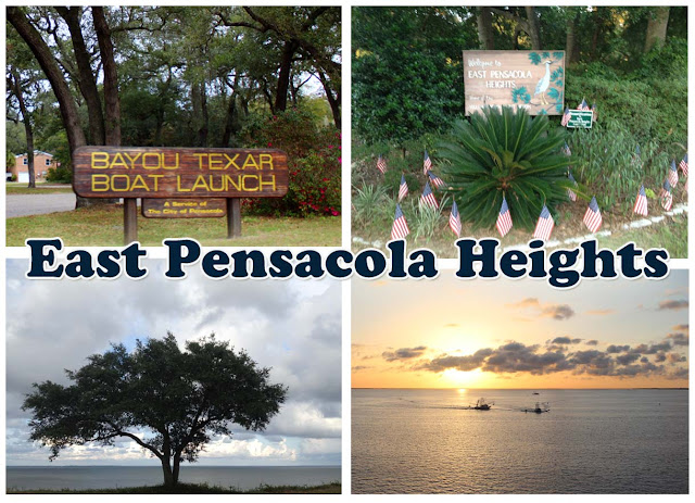 East Pensacola Heights in Southeast Pensacola