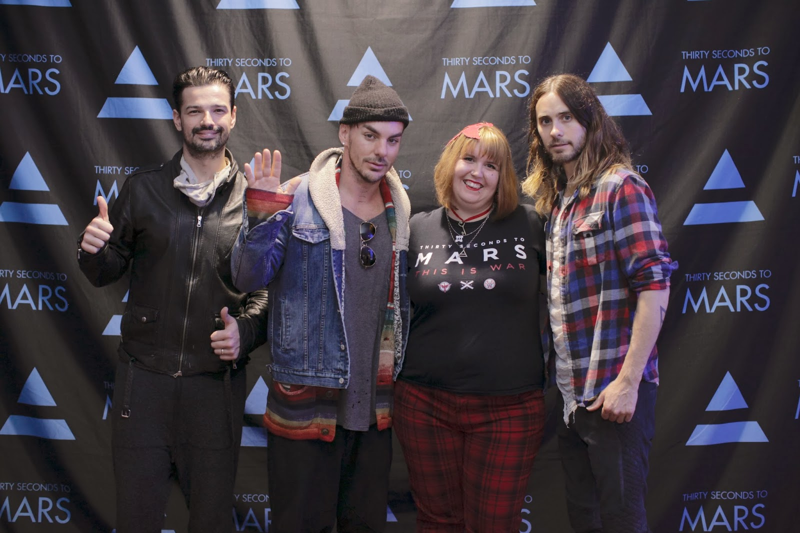 Up in the o2 30 seconds to mars take over the o2 arena me with the mars boys m4hsunfo