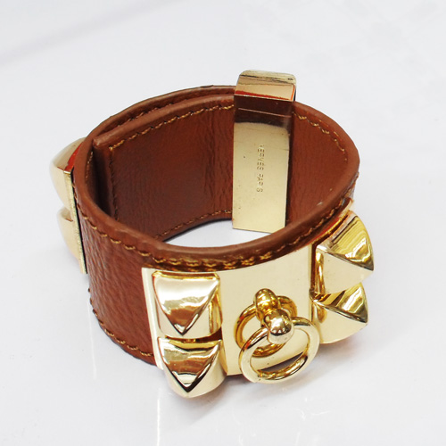 Hermes Bracelet Leather3