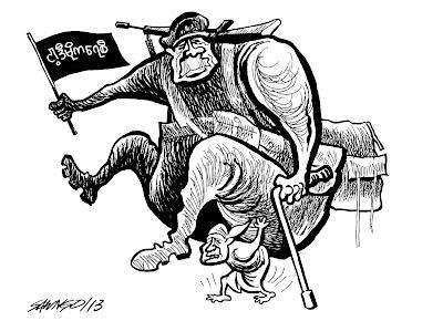 Saw Ngo – Cartoon
