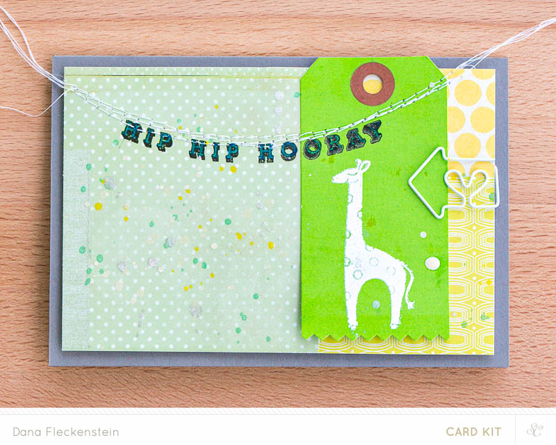 Studio Calico Hello, hello Kit card by @pixnglue