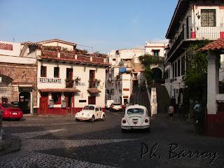 Paysages du Mexique Taxco ville coloniale argent blog voyage photo
