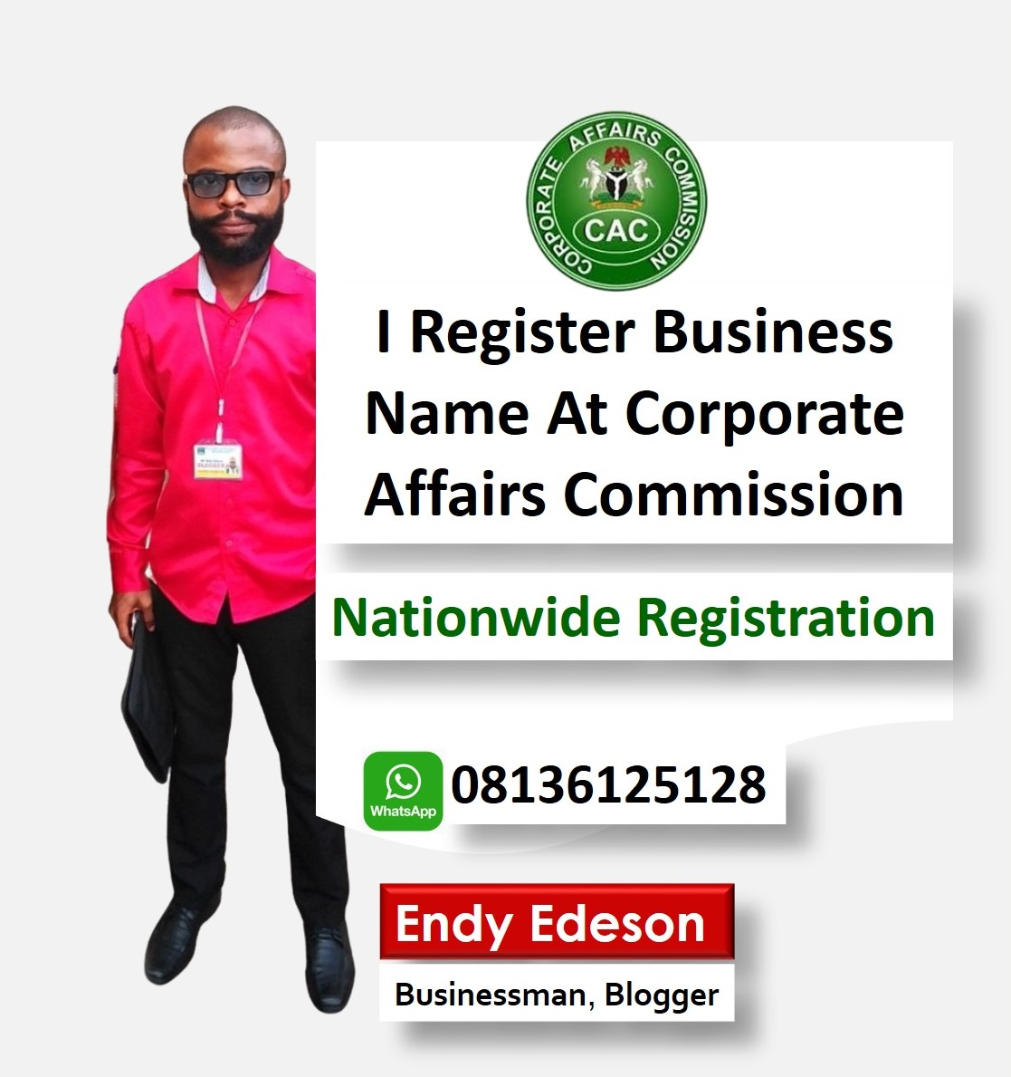 Contact Edeson To Register Your Business