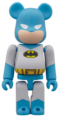 San Diego Comic-Con 2012 Exclusive Light Blue & Gray Batman DC Comics Be@rbrick by Medicom