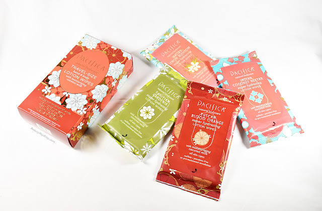 holiday gift guide 2015 pacifica travel-size hand & body wipes