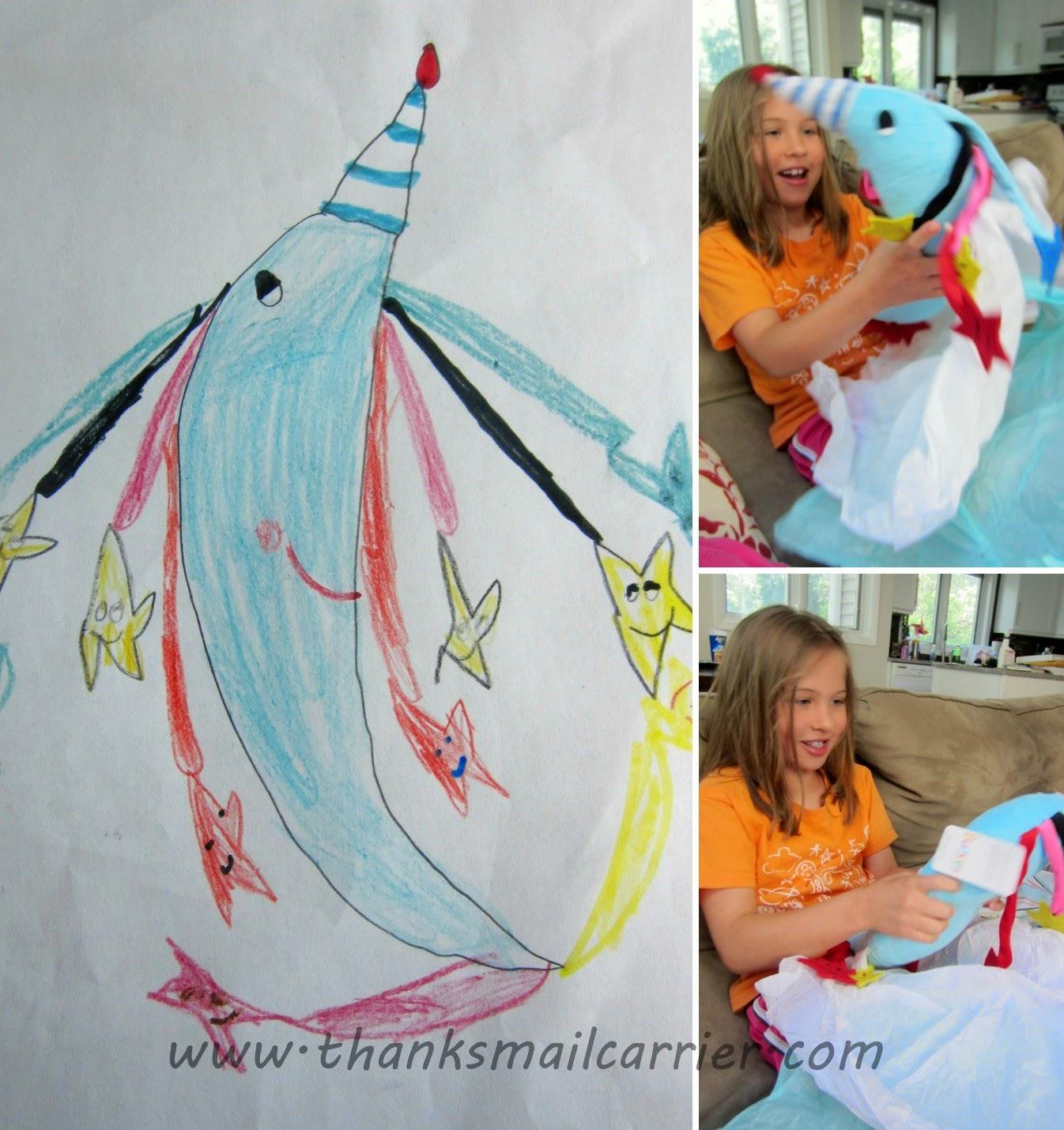 child moon drawing