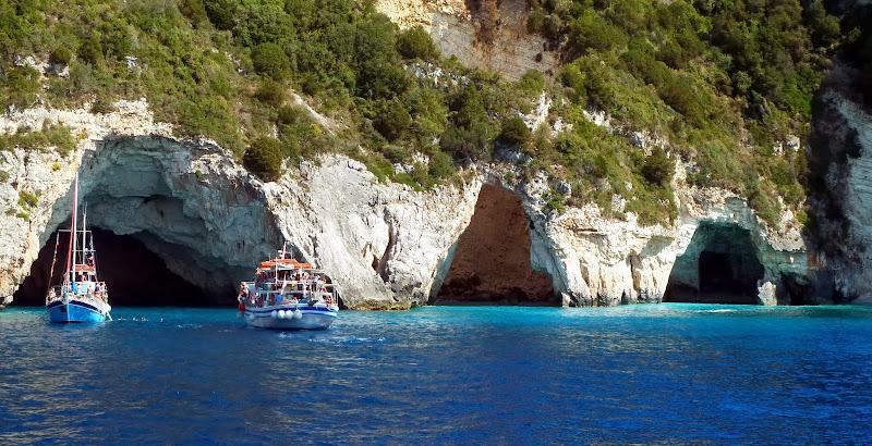 Westküste von Paxos im Ionischen Meer