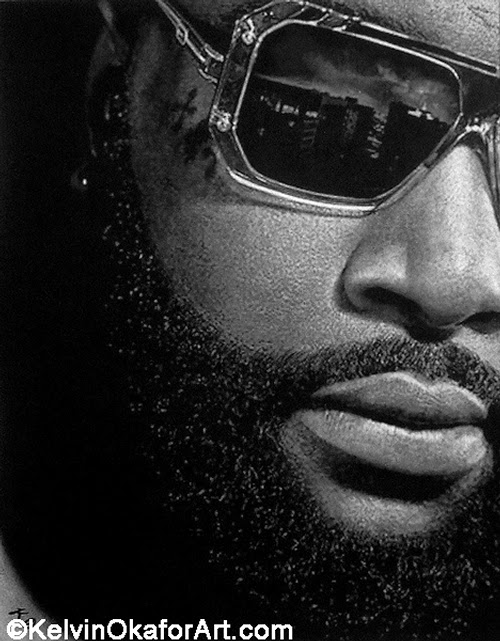 10-Rick-Ross-Kelvin-Okafor-Celebrity-Portrait-Drawings-Full-of-Emotions-www-designstack-co