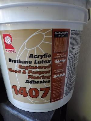 glue for wood floor