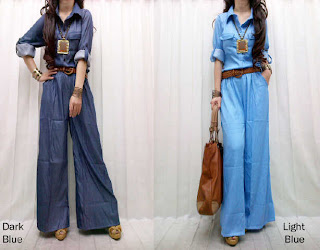 Jumpsuit Jeans fit to L