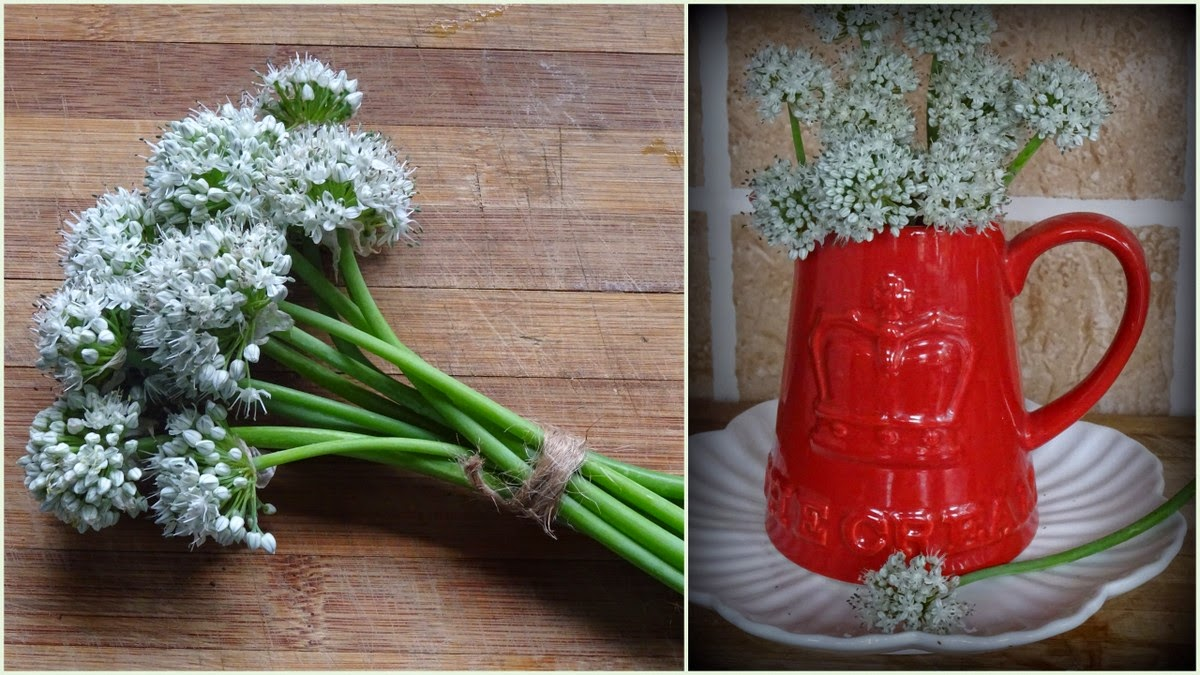 Spring onion pakodas