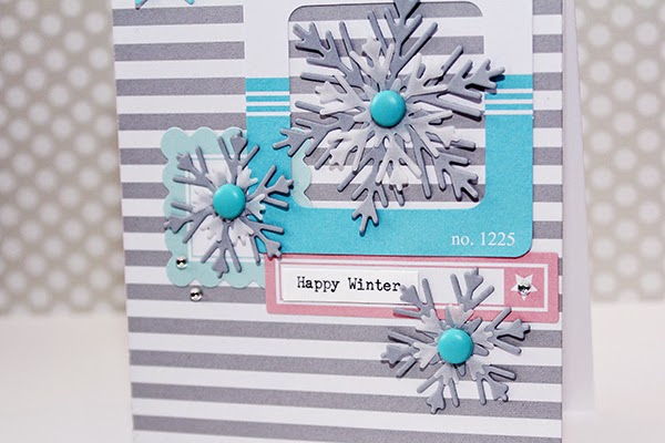 Erin Taylor Chickaniddy Crafts Winter Card 2