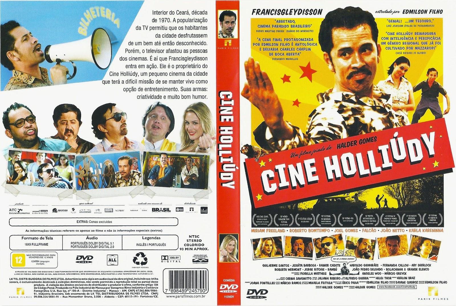 Capa DVD Cine Holliúdy