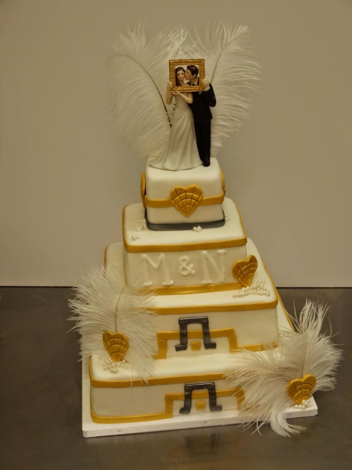 CAKE Amsterdam Great Gatsby Wedding