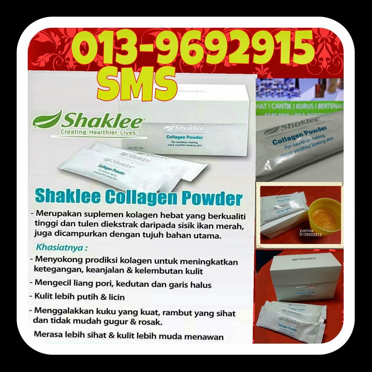 Kolagen Shaklee memang sesuai untuk lelaki dan wanita yang mementingkan kesihatan dalaman dan luaran.