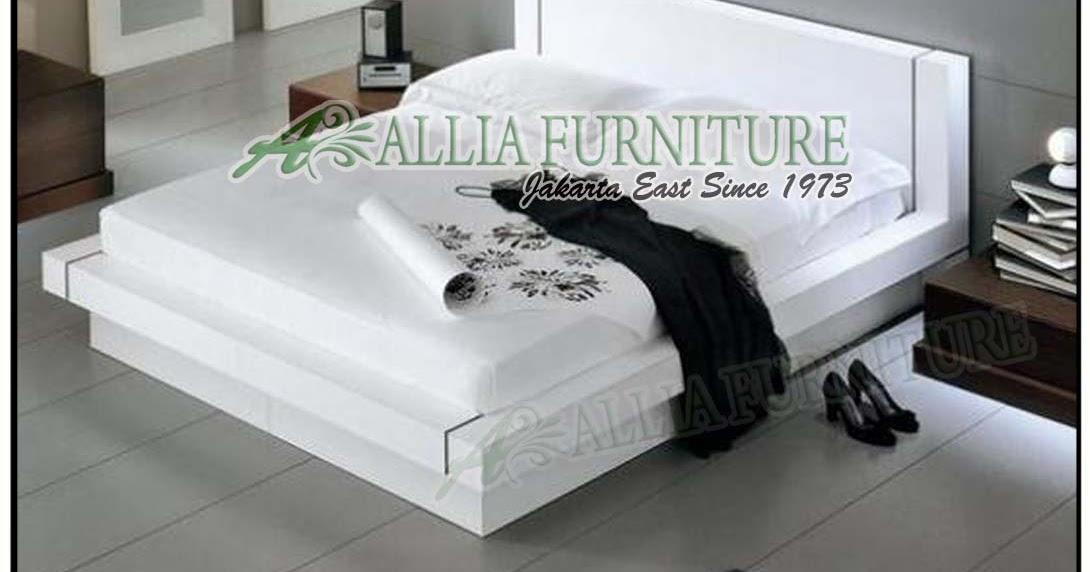 tempat tidur new modern minimalis rush allia furniture