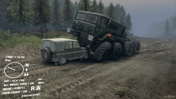 Download Game PC Ringan Spintires-CODEX