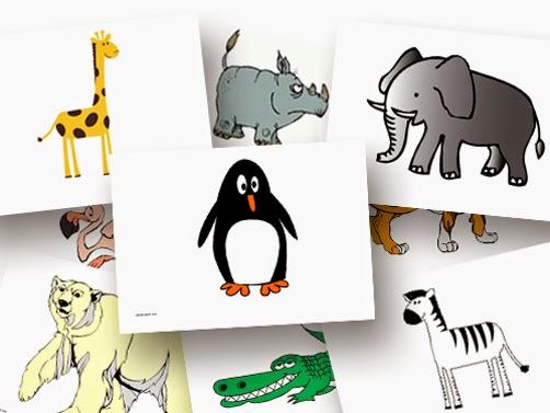 Bildkarten Tiere im Zoo - DaZ Material für die Sprachförderung in der Grundschule