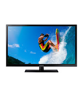 Buy Samsung 43H4900 109.22 cm (43) (Cricket Mode) 3D Plasma Television at Rs.38,394 ; Buytoearn