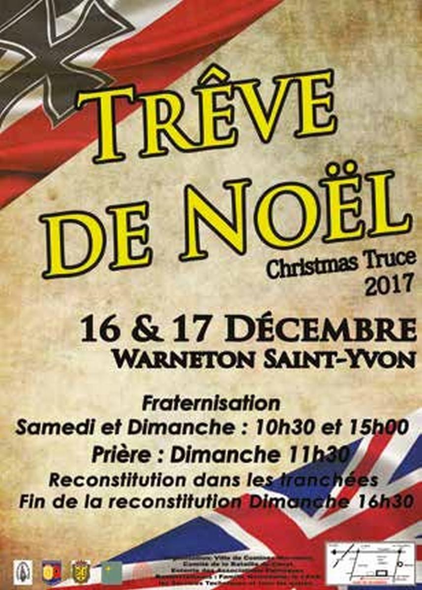 16 ET 17 décembre  TRÊVE DE NOËL