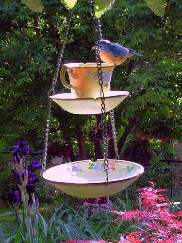 jardins ideias criativas : jardins ideias criativas: – Reciclados: Ideias Criativas para Embelezar Jardins e Varandas