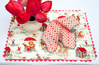 Tutorial: Rickrack Napkins and Placemats