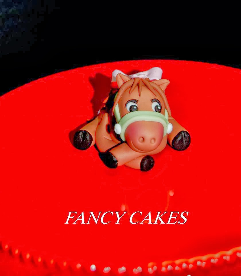 Fancy Cake's Fondant Horse