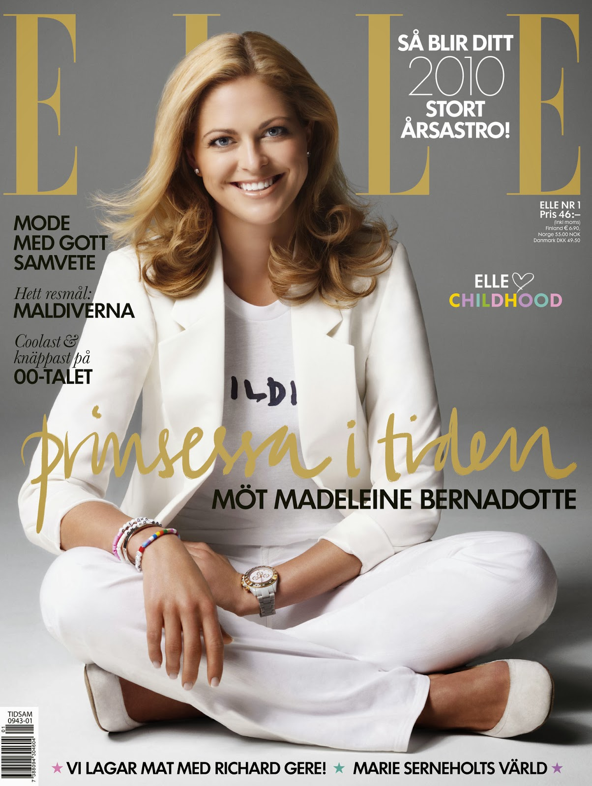 The Royal Source: Princess Madeleine on old magazine covers