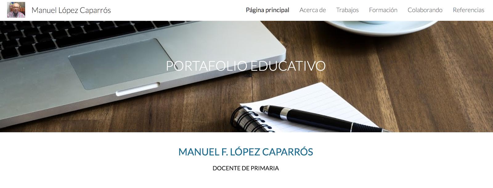 Visita mi portfolio educativo